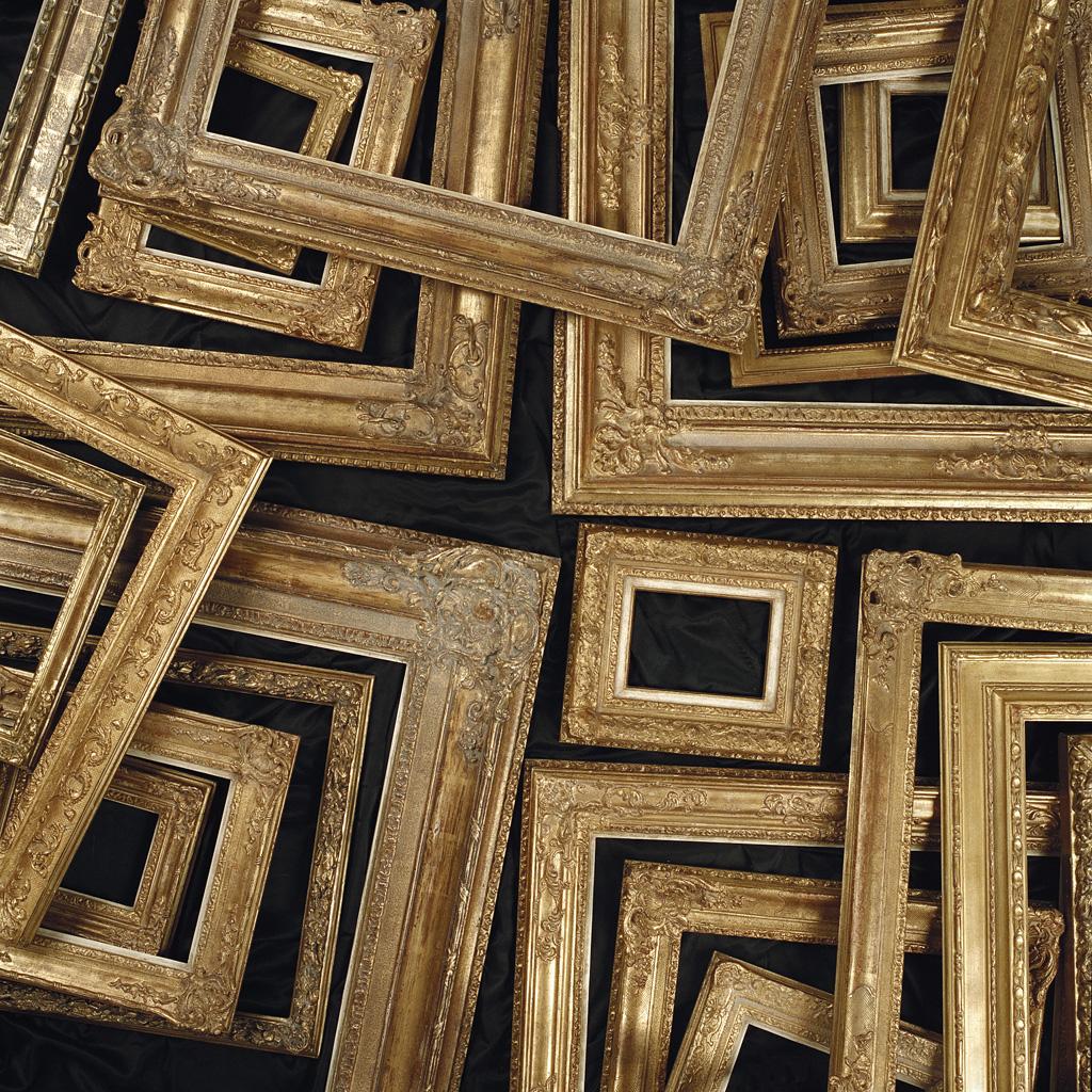 Lijstenmaker - Gouden ornamentlijsten